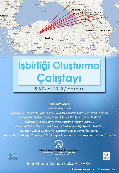 Kafdav Bilim Kurulu İle Kafkasya Araştırma Enstitüleri Arasında İşbirliği Oluşturma Çalıştayı